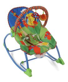 Smart Picks Infant to Toddler Rocker Cum Bouncer - Green