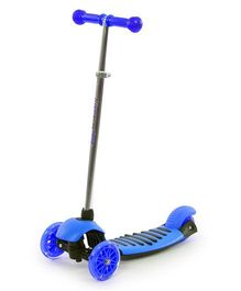 The Flyer's Bay Height Adjustable Kick Scooter - Blue