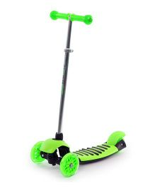 The Flyer's Bay Height Adjustable Kick Scooter - Green