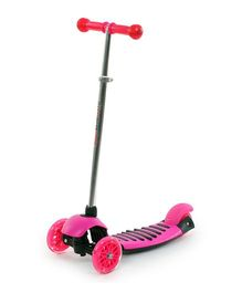 The Flyer's Bay Height Adjustable Kick Scooter - Pink