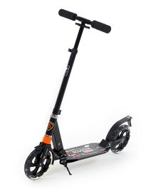 Flyers Bay Urban Scooter For Teenagers - Black