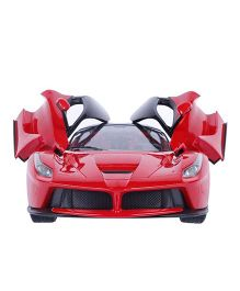 Flyers Bay Rechargeable Ferrari Style Remote Control Car With Fully Function Doors - Red