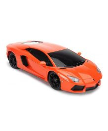 Flyers Bay Remote Control Licenced Lamborghini Aventador LP700 Car Toy With Shock Absorbors And LED Lights - Orange