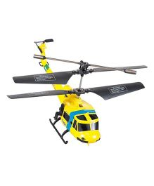The Flyer's Bay 703 Series Army Helicopter - Yellow
