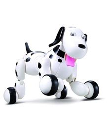 The Flyer's Bay Multipurpose Realistic Radio Remote Controlled Smart Dog - White