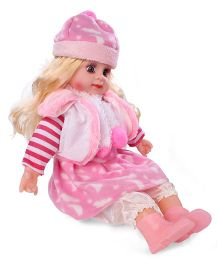 Smiles Creation Doll In Jacket Pink - 22 Inches