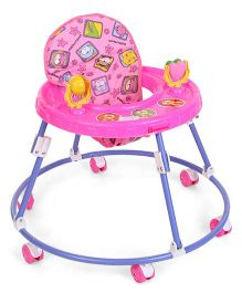 Mothertouch Chikoo Round Walker Deluxe Pink - RWP