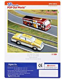 MeGaps - 3D Bus/Taxi  Puzzle