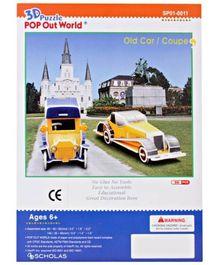 MeGaps - 3D Old Car Coupe Puzzle