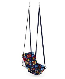 Mothertouch 2 In 1 Swing Floral Print - Blue