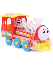 Smiles Creations Musical And Lighting Train - Red