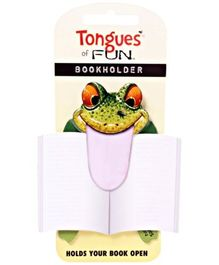 Tongues of Fun - Book Holder Frog