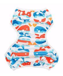 Wanna Party Swim Diaper Aqua Love - Multi Color