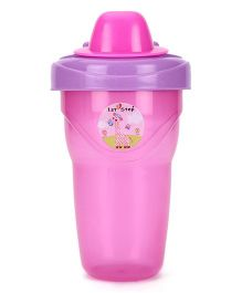 1st Step Non-Spill Cup With Lid Pink - 250 ml
