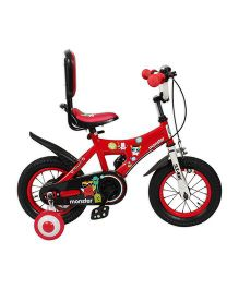 HLX NMC Bicycle 12 Monster - Red