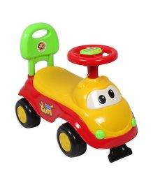 EZ' Playmates Cute Car Ride on - Yellow And Red