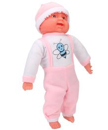 Kids Zone Laughing Baby Doll Pink - Height 46 cm
