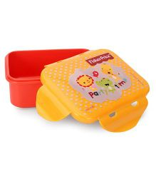 Fisher Price Mini Lunch Box - Orange and Yellow
