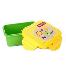 Fisher Price Mini Lunch Box - Green And Yellow