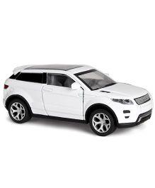 Toymaster Pull Back Die Cast Car Model - White
