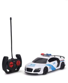 Karma Speed RC Police Car - White
