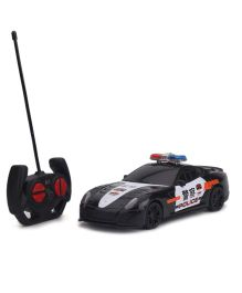 Karma Top Speed RC Police Car - Black And White
