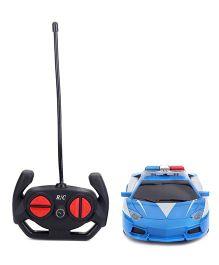 Karma Top Speed RC Police Car - Blue