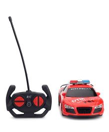 Karma Speed RC Police Car - Red