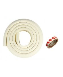 Kuhu Creations Edge & Corner Guards Crash Bar Children Safety Edge Guards Strip - White