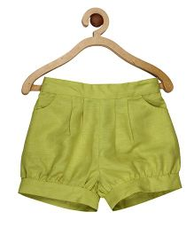 My Lil Berry Elasticated Shorts - Green