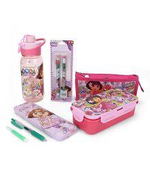 Dora School Kit Pink - Set of 6