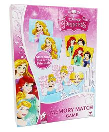 Cardinal Gates Princess Memory Match Games - 72 Cards