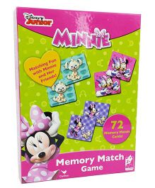 Cardinal Gates  Disney Minnie Mouse Memory Match Games - 72 Cards