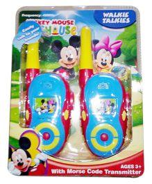 Disney Mickey Mouse Walkie Talkie - Multicolor