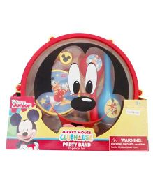 Disney Mickey Mouse Party Band Musical Instrument Set - 10 Pieces