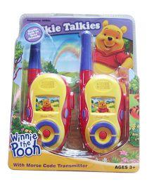 Disney Winnie The Pooh Walkie Talkie - Multicolor