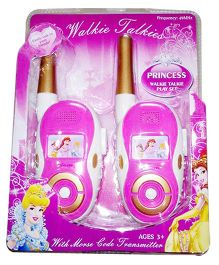 Disney Princess Walkie Talkie - Pink