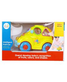 Huile Toys Intelligent Fruit Car With Music And Light