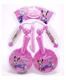 Disney Minnie Mouse Racket And Rope Set - Pink