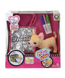 Simba Chi Chi Love And Color Me Mine Doggy Toy With Bag - 5.5 Inches