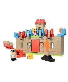 Ecofier Abrick Castle Bulding Blocks Set - Multi Color