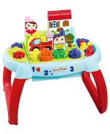Ecoiffier Maxi Abrick Discovery Table - Multicolor