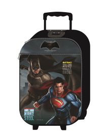 Simba Batsup Dawn Of Justice Luggage Trolley Black - 18 Inches