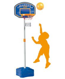 Smoby 4 In 1 Sports Center - Blue And Orange