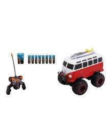 Dickie RC VW T1 Wheely Bus - Red And White