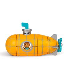 Janod Magnetic Submarine - Yellow