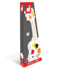 Janod Wooden Confetti Guitar - White