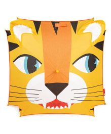 Janod Tiger Umbrella - Orange Yellow