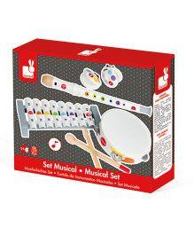 Janod Confetti Musical Set - White