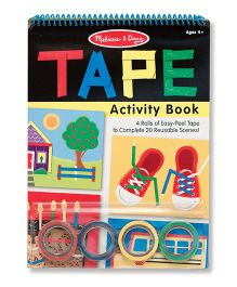 Melissa & Doug Tape Activity Book - English